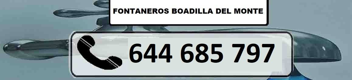 Fontanero Boadilla del Monte Urgentes