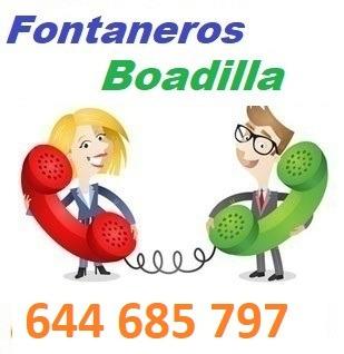 Telefono de la empresa fontaneros Boadilla del Monte